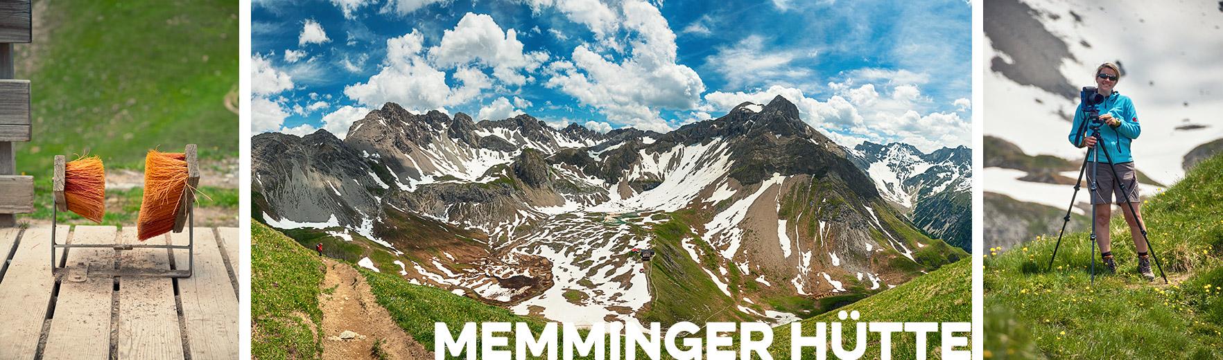 Memminger Hütte, JV